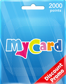 mycard 2,000 points tw discount promo