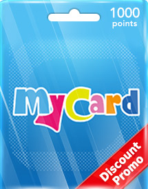 mycard 1,000 points tw discount promo