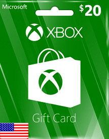 usd20 xbox live gift card us