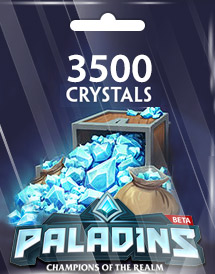 paladins 3,500 crystals global