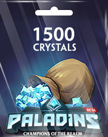 paladins 1,500 crystals global