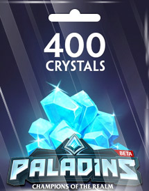 paladins 400 crystals global