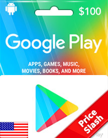 usd100 google play gift card us price slash promo