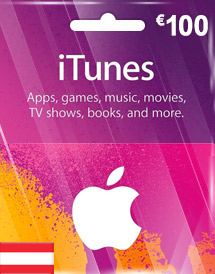 eur100 itunes gift card at