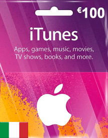 eur100 itunes gift card it