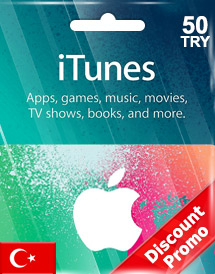 itunes tl50 gift card tr discount promo