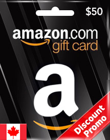 amazon gift card cad50 ca discount promo