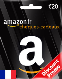 amazon gift card eur20 fr discount promo