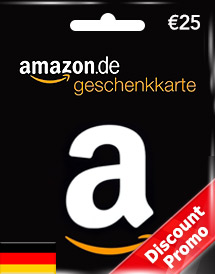 amazon gift card eur25 de discount promo