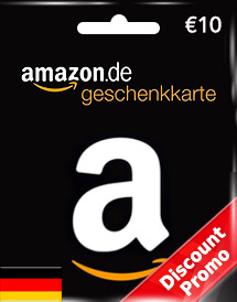 amazon gift card eur10 de discount promo