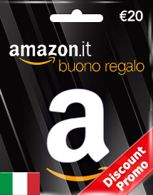 amazon gift card eur20 it discount promo