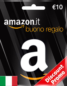 amazon gift card eur10 it discount promo