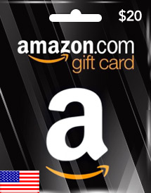 amazon gift card usd20 us