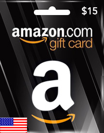 amazon gift card usd15 us