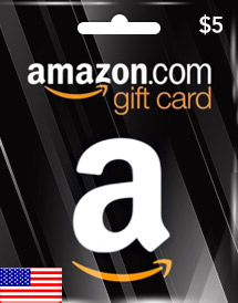 amazon gift card usd5 us