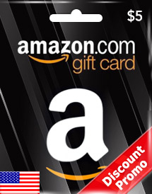 amazon gift card usd5 us discount promo