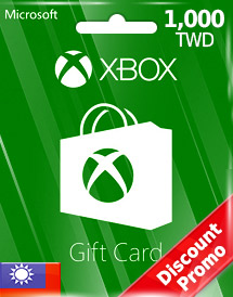 twd1,000 xbox live gift card tw discount promo