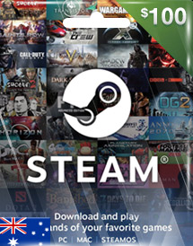 steam wallet code aud100 au