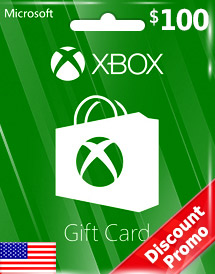 usd100 xbox live gift card us discount promo