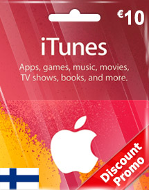 eur10 itunes gift card fi discount promo