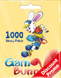 1000 bunny points discount promo