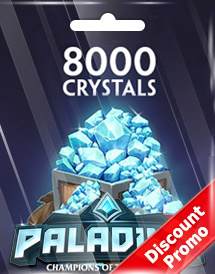 paladins 8,000 crystals global discount promo