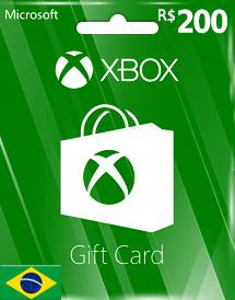 xbox live gift card br
