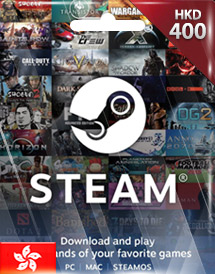steam wallet code hkd400 hk