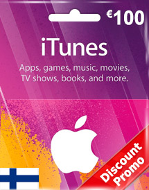 eur100 itunes gift card fi discount promo