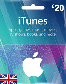 itunes gbp20 gift card uk