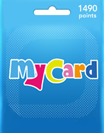mycard 1,490 points my/sea