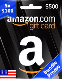 amazon gift card usd500 us bundle promo