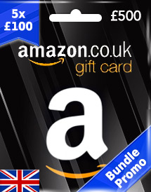 Buy Amazon Gift Card (UK) | Instant Delivery & Cheap