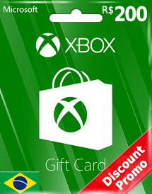 brl200 xbox live gift card br discount promo