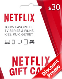 usd30 netflix gift card us discount promo