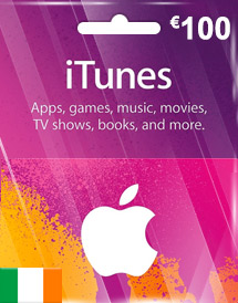eur100 itunes gift card ie