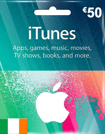eur50 itunes gift card ie