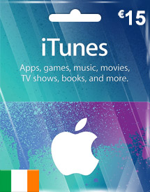 eur15 itunes gift card ie