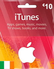 eur10 itunes gift card ie