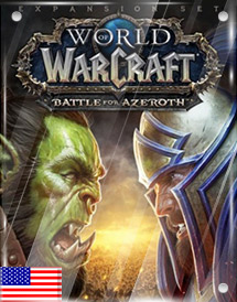 world of warcraft - battle for azeroth standard edition us