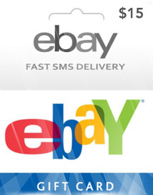 usd15 ebay gift card us