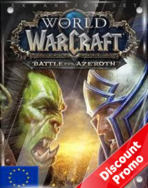 world of warcraft - battle for azeroth standard edition eu dis