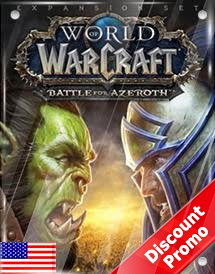 world of warcraft - battle for azeroth standard edition us dis