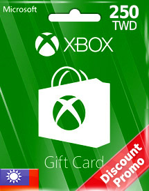 twd250 xbox live gift card tw discount promo