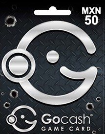 gocash mxn50 game card mx