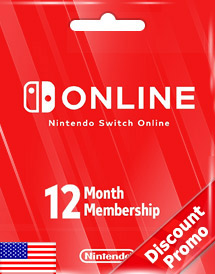 nintendo switch online 12-months individual membership us disc