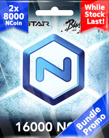 ncsoft 16,000 ncoins bundle promo*