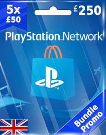 gbp250 psn card uk bundle promo