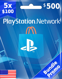 usd500 psn card us bundle promo