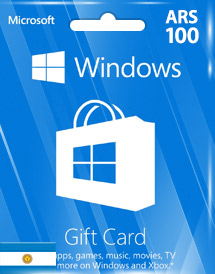 windows phone store ars100 gift card* ar